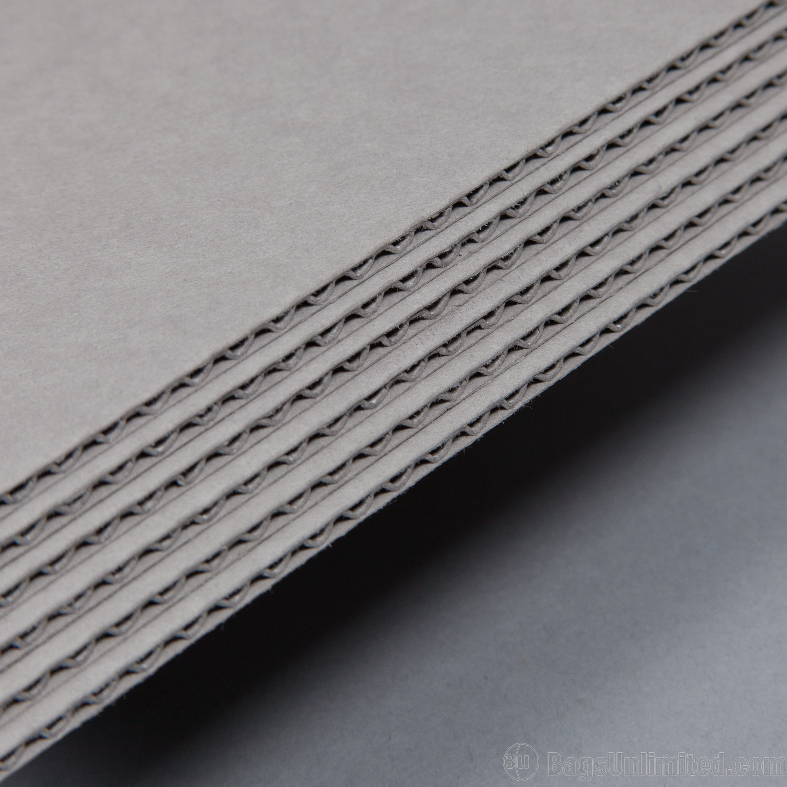 Corrugated fluting boxes