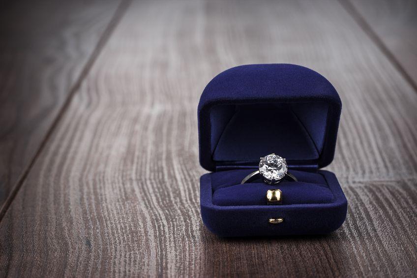 rigid box for jewelry