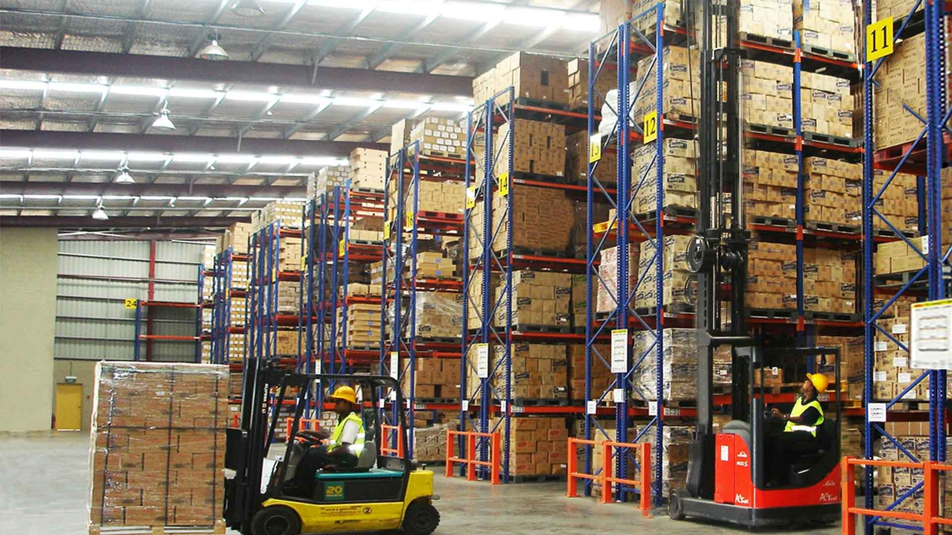 product packaging warehousing